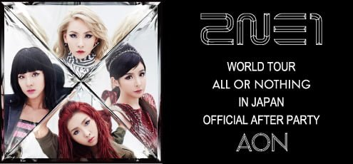 2014 2NE1 WORLD TOUR ~ALL OR NOTHING~ in Japan Official After Party