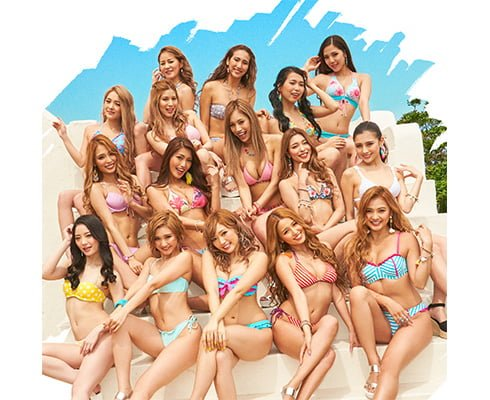"GIRLS FESTIVAL x BIKINI NIGHT ""SUMMER SUMMER"" release party"
