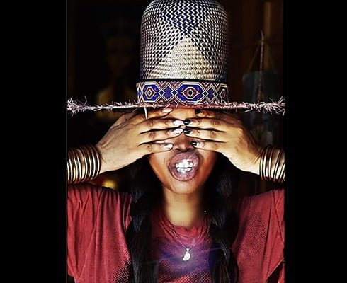 """DJ Lo Down Loretta Brown aka Erykah Badu"""